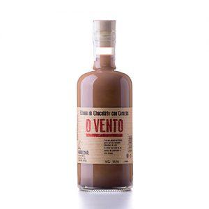 Crema de chocolate con cerezas O'Vento
